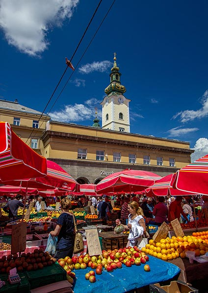 enjoy a private guided foodie tour of Zagreb