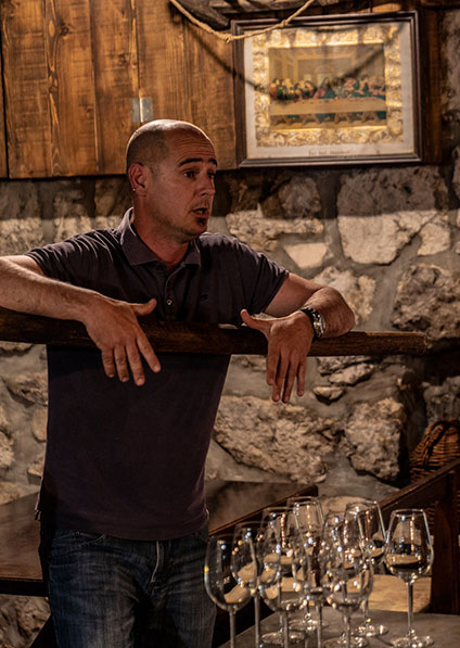 Mario Bartulovic wine tour