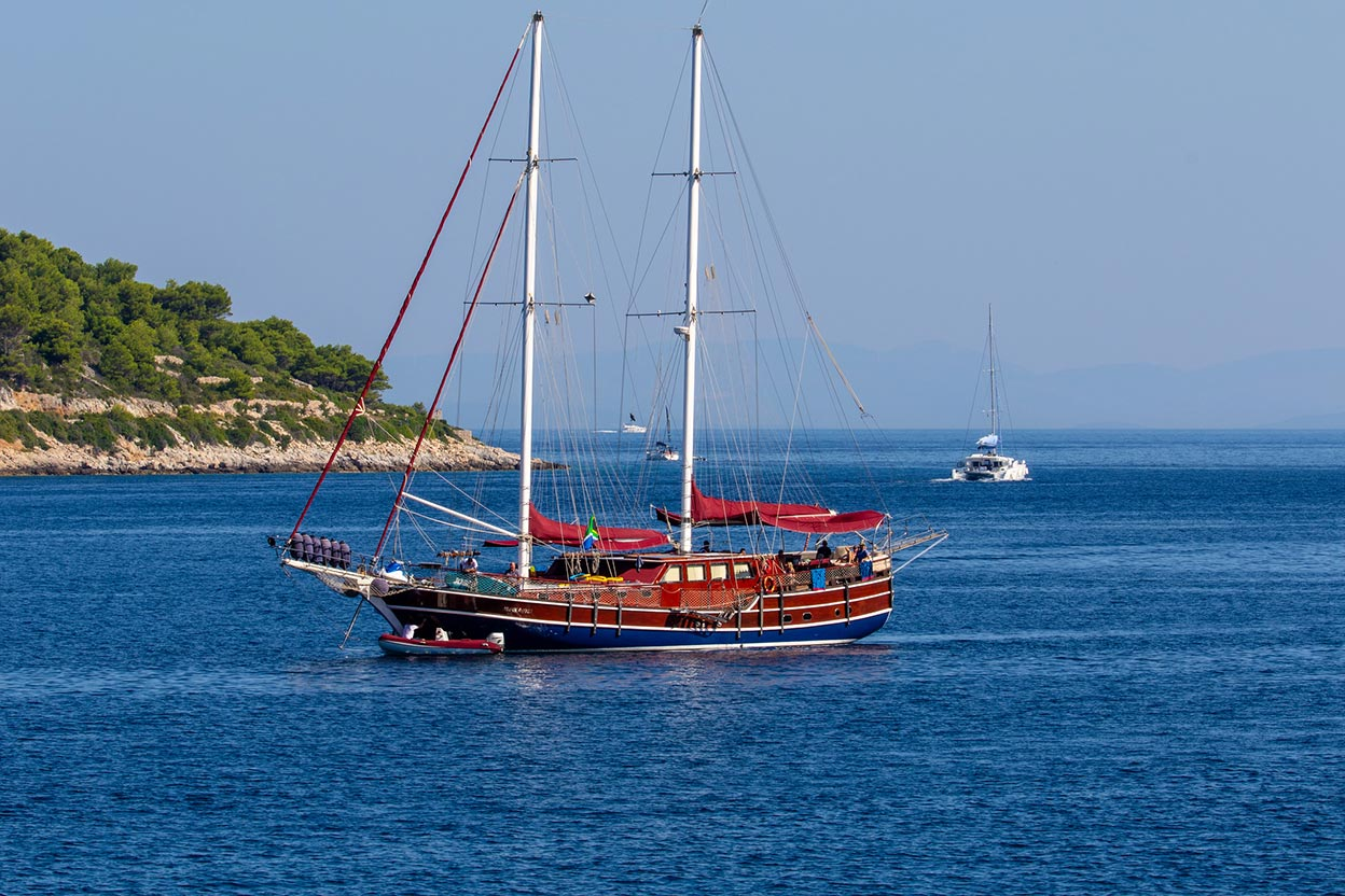 Chartering a Gulet in Croatia