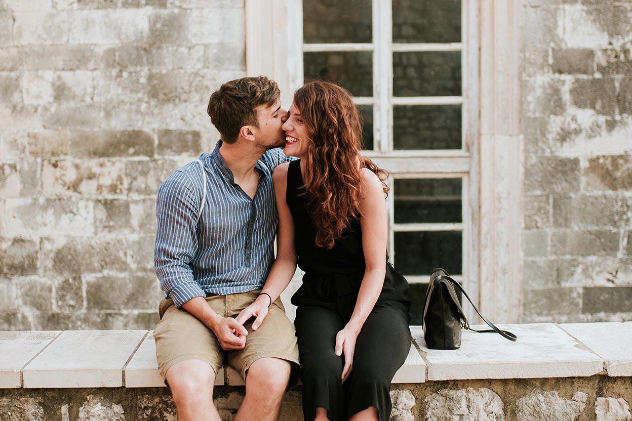 perfect kissing spots in Croatia