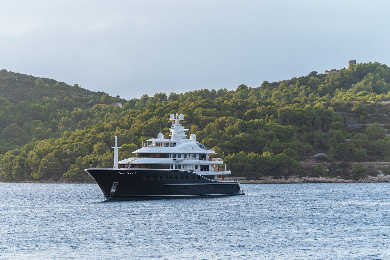 Mega Yacht charter in Croatia