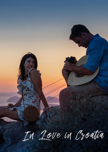 In love in Croatia, private travel program Croatia